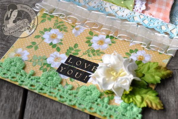 Susan Lui Graphic 45 Secret Garden Love Card 5