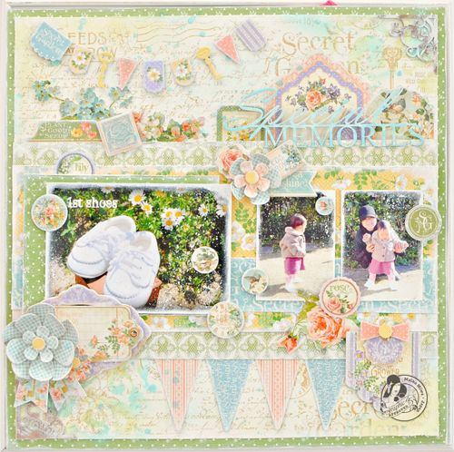 Maiko Miwa Secret Garden Layout#1