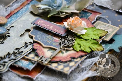Susan Lui Graphic 45 French Country Treasure Box 6