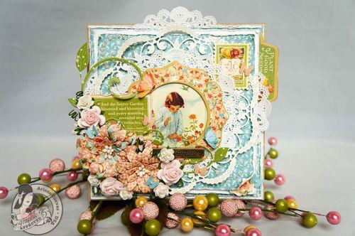 Secret Garden Card Arlene Cuevas Easter Spring Gift
