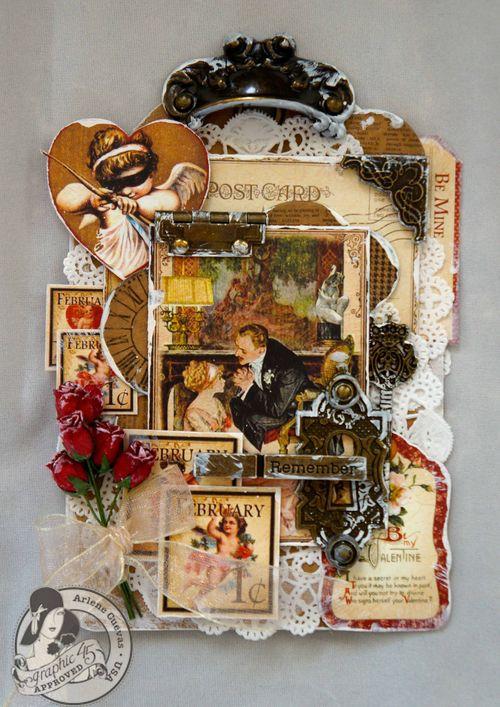 Place in Time Tag Arlene Cuevas Valentine Gift Tutorial