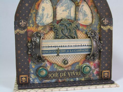 Alberto Juarez Graphic45 FrenchCountry radio 3