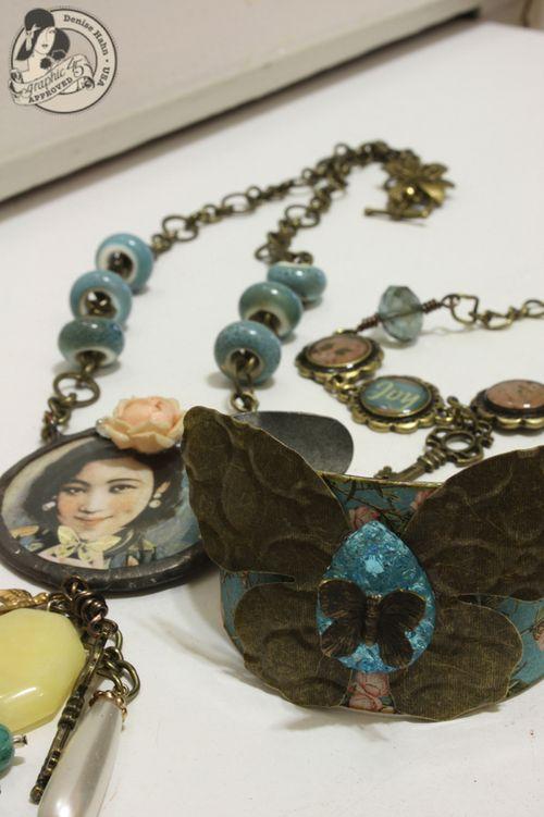 Denise Hahn Graphic 45 Birdsong Jewelry - 1-imp