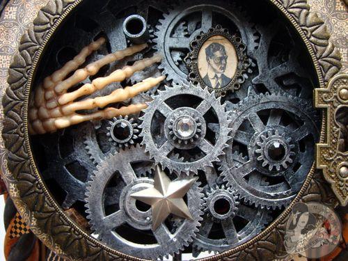 2 Nicole Eccles- August - G45 Happy Haunting Altered Clock