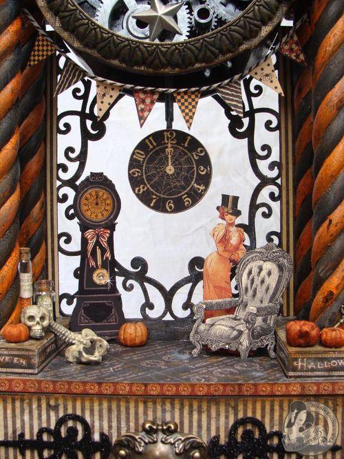 6 Nicole Eccles- August - G45 Happy Haunting Altered Clock