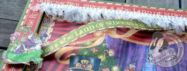 Susan Lui Graphic 45 Nutcracker Sweet The Nutcracker Layout 3