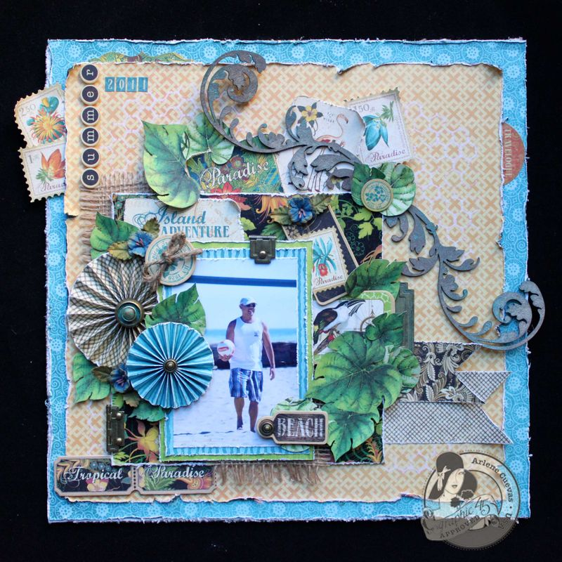 Arlenecuevas_G45_TropicalTravelogue_ScrapbookPage_Sept2012_1