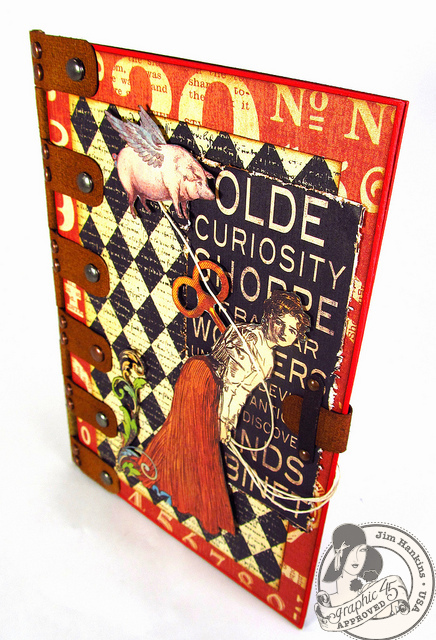 Olde Curiosity Shoppe Card Graphic 45
