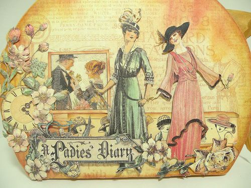 A Ladies' Diary Altered Art Graphic 45 Betto Cesare