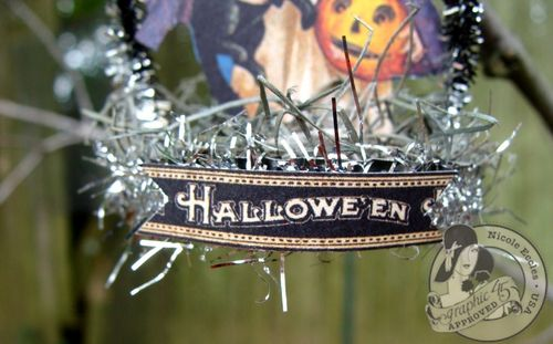 Nicole Eccles- September 1-2-Graphic 45 Happy Haunting - Simple Handmade Ornaments 4