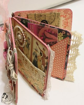 Denise Hahn Craft E Corner Pink Project A Ladies Diary Appointment Book - 8-imp