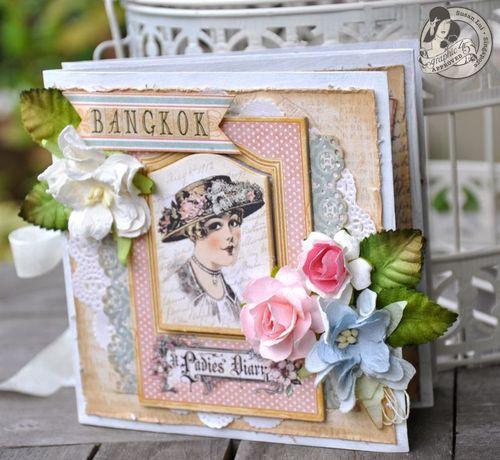Susan Lui Graphic 45 Ladies Diary Art Box & Mini_ Bangkok 7