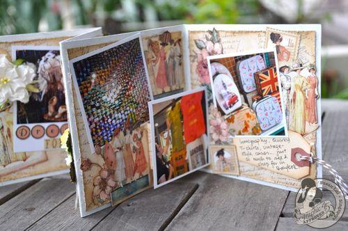Susan Lui Graphic 45 Ladies Diary Art Box & Mini_ Bangkok 9