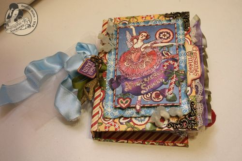 Denise Hahn Nutcracker Sweet Hand Bound Mini Album - 09-imp