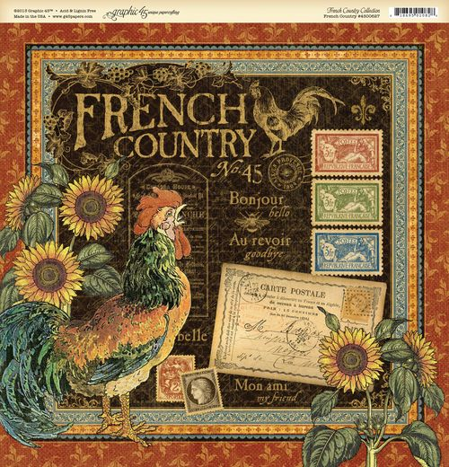 French country frt PR