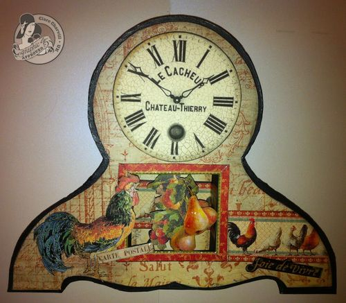 CHA JAn 2013 French Clock Pic 2 Clare Charvill
