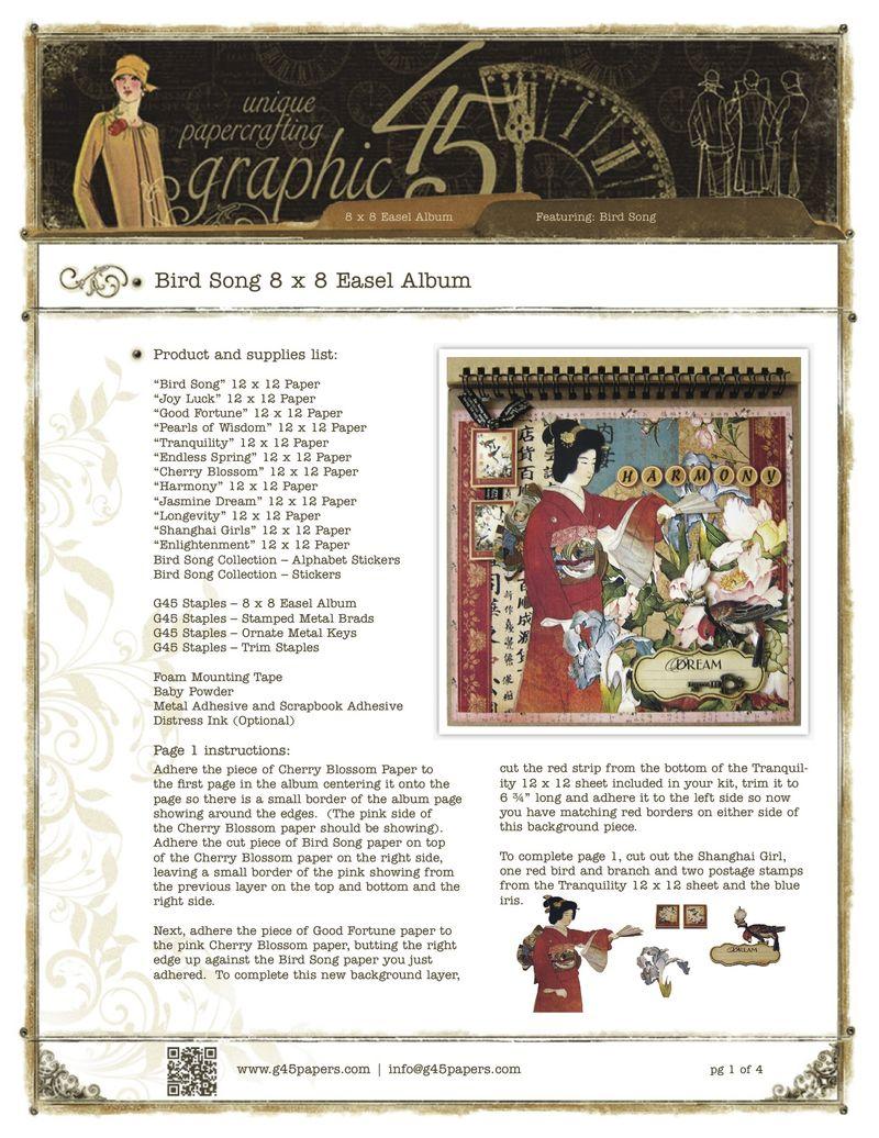 BirdSong_8x8EaselAlbumGraphic45pg1