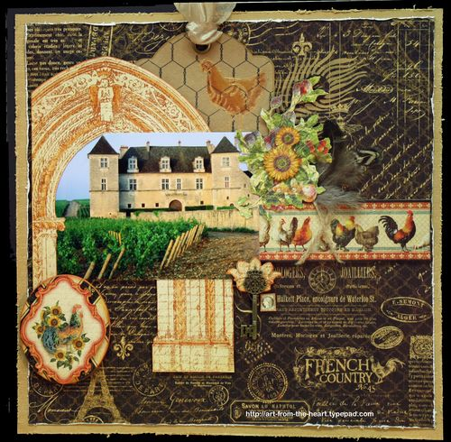 French Country Garden Design Layout: Four Fabulous Ideas For Unique French Country Crafts