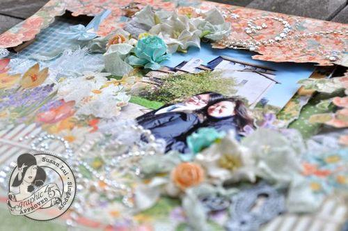 Susan Lui Graphic 45 Secret Garden Rome Layout 2