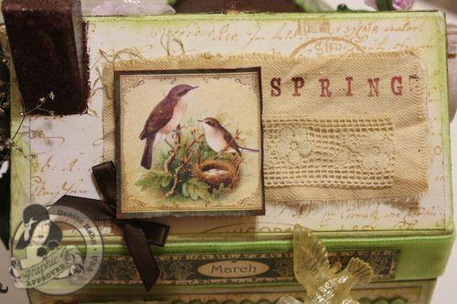 Denise Hahn Place in Time and Secret Garden Paper Mache Cottage - 3-imp