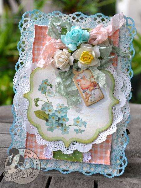 Susan Lui Graphic 45 Secret Garden Love Card 1