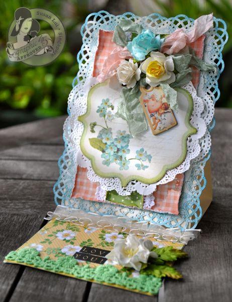 Susan Lui Graphic 45 Secret Garden Love Card 3
