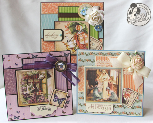 Place in Time Card Tutorial Series Gloria Stengel