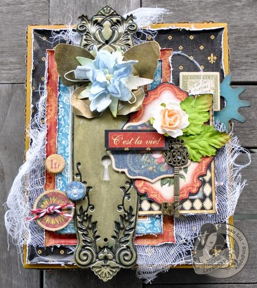 Susan Lui Graphic 45 French Country Treasure Box 1