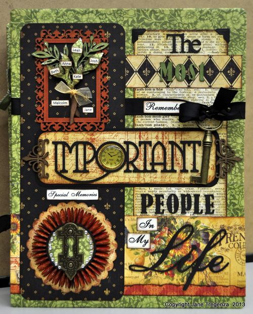 French Country Book Tutorial Jane Tregenza Graphic 45