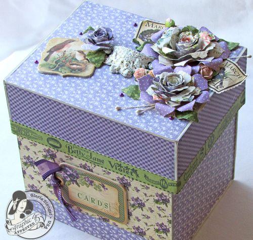 Place in Time Secret Garden Box Altered Art Cards Gift Gloria Stengel Graphic 45 Tutorial