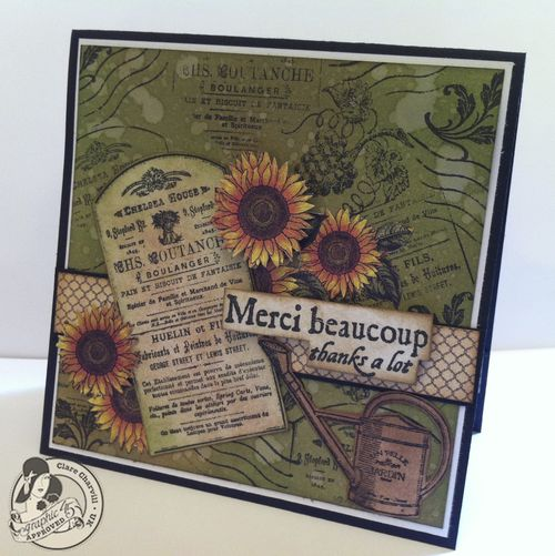 G45 French Country Stamped Card 3