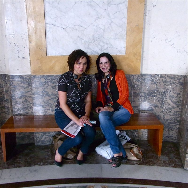 Aimee and Diane and the Louvre