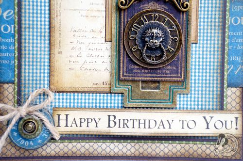 Birthday Card Graphic 45 Arlene Cuevas French Country Gift