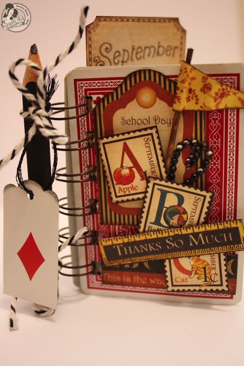 Denise Hahn Graphic 45 Place in Time Playing Card Mini's - 07-imp
