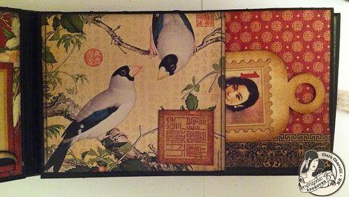 Bird Song Matchbook Box