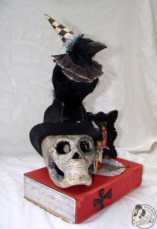 Nicole Eccles- G45 Happy Haunting- Altered Art Box Assemblage 2