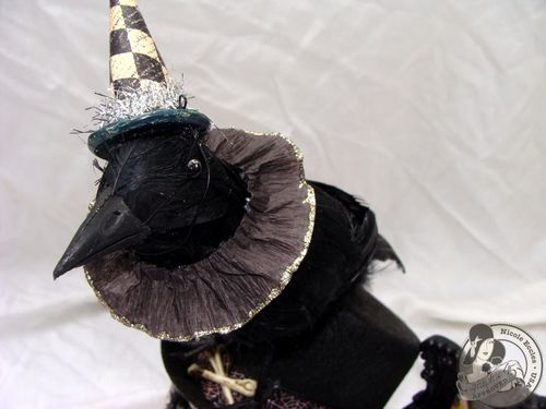 Nicole Eccles- G45 Happy Haunting- Altered Art Box Assemblage 4