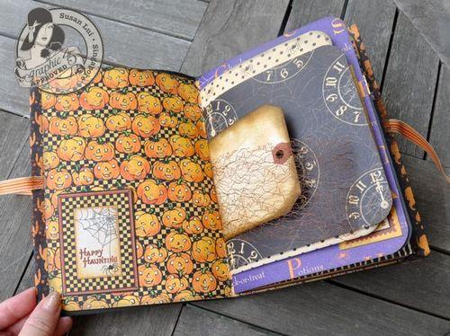 Susan Lui Graphic 45 Happy Hunting Mini Album 4