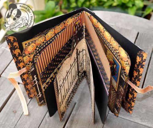 Susan Lui Graphic 45 Happy Hunting Mini Album 5