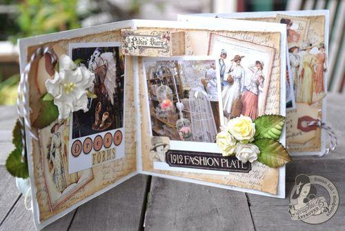 Susan Lui Graphic 45 Ladies Diary Art Box & Mini_ Bangkok 10