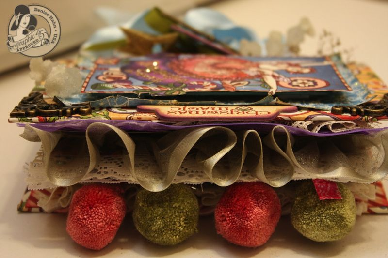 Denise Hahn Nutcracker Sweet Hand Bound Mini Album - 04-imp