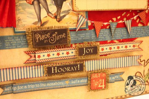 Denise Hahn Graphic 45 Place In Time July Calendar Page - 3-imp
