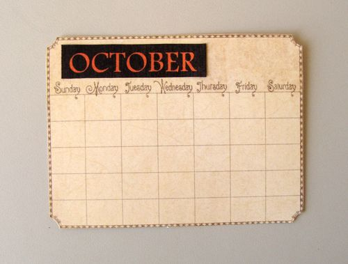 Image 33 Nicole Eccles -Graphic 45 A Place and Time October Calendar Tutorial