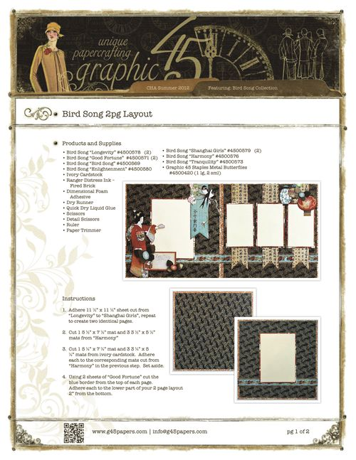 Graphic45-BirdSong2pglayoutpg1