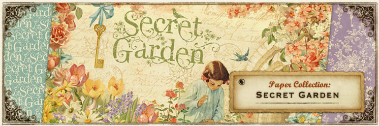Graphic 45 Sneak Peeks Day 9 Secret Garden Graphic 45