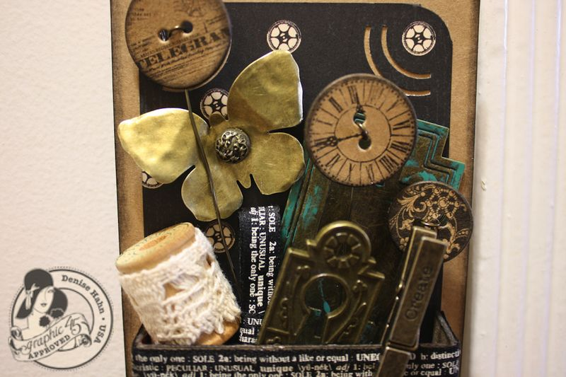 Denise Hahn Graphic 45_ CHA 2013 Metal Staples Large Tag - 2-imp