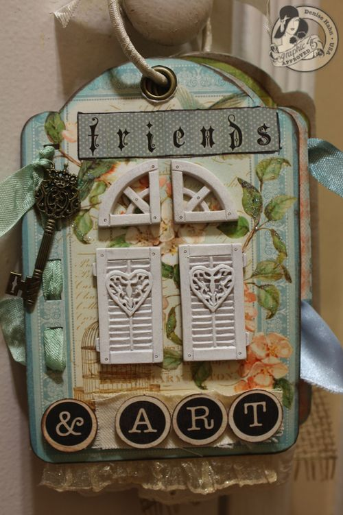 Denise Hahn Graphic 45 Secret Garden Small Tag Album - 08-imp