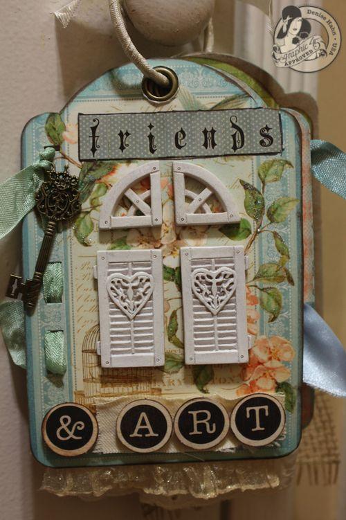 Denise Hahn Graphic 45 Secret Garden Small Tag Album - 08-imp