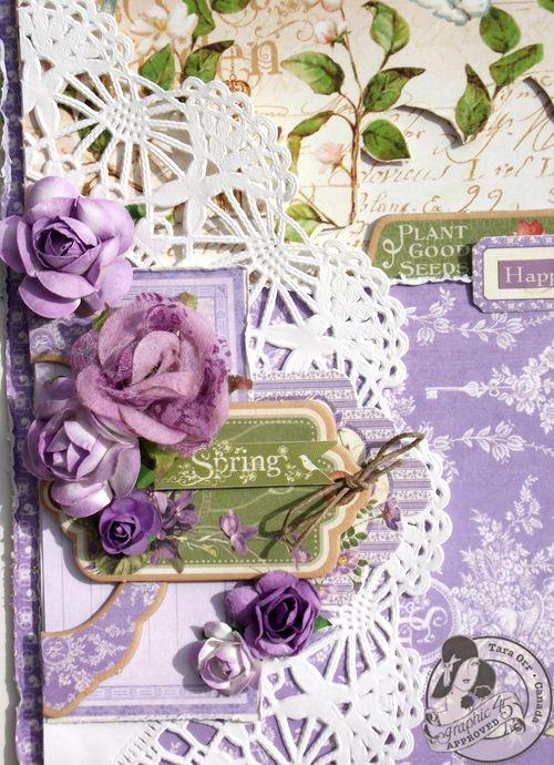 Secret Garden layout Graphic 45 Tara Orr