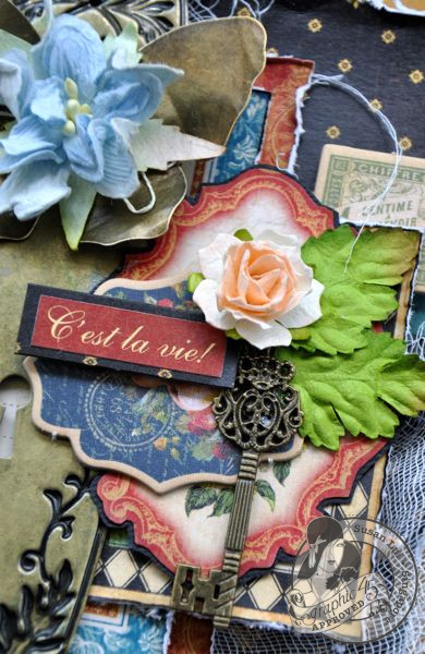 Susan Lui Graphic 45 French Country Treasure Box 3